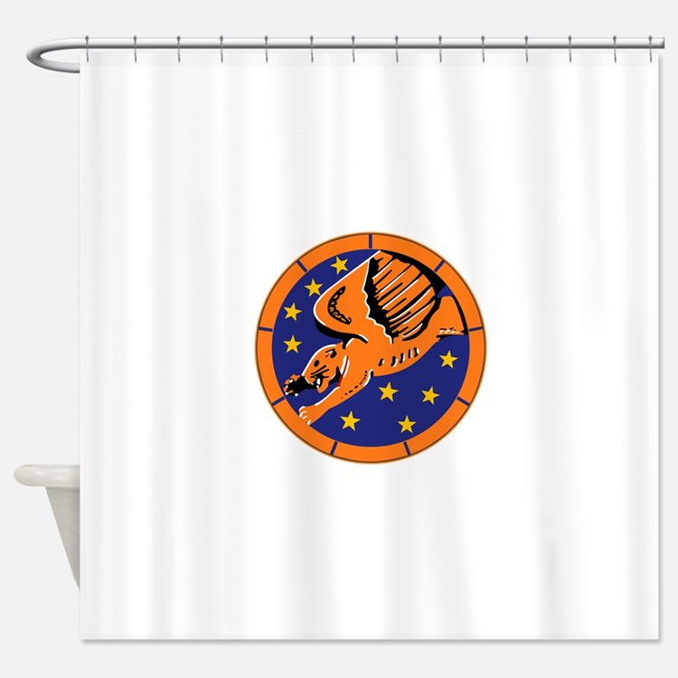 99th_fighter_squadron.png Shower Curtain