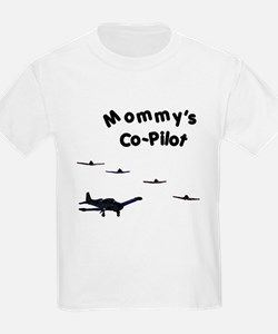 Mommy's Co-Pilot T-Shirt
