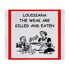 louisiana Throw Blanket