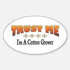 Trust Cotton Grower Oval Decal