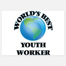 World's Best Youth Worker Invitations