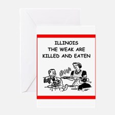 illinois Greeting Cards