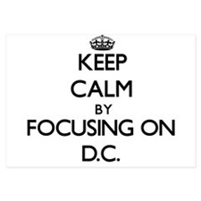 Keep Calm by focusing on D.C. Invitations