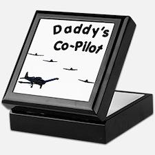 Daddy's Co-Pilot Keepsake Box