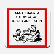 south dakota Mousepad