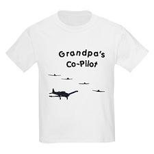 Grandpa's Co-Pilot T-Shirt
