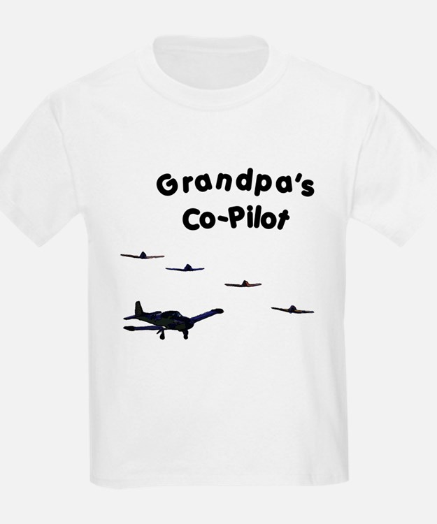 Grandpa's Co-Pilot T-Shirt