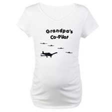 Grandpa's Co-Pilot Shirt