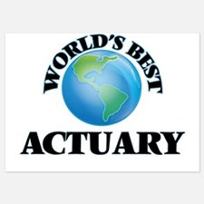 World's Best Actuary Invitations