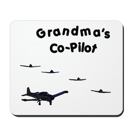 Grandma's Co-Pilot Mousepad