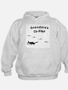 Grandma's Co-Pilot Hoodie