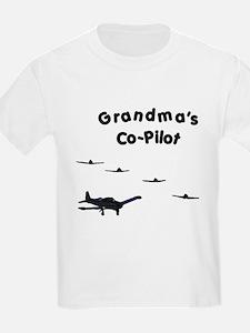 Grandma's Co-Pilot T-Shirt