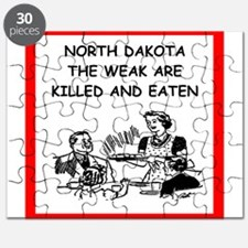 north dakota Puzzle