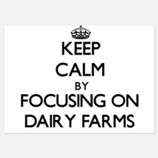 Keep Calm by focusing on Dairy Farms Invitations