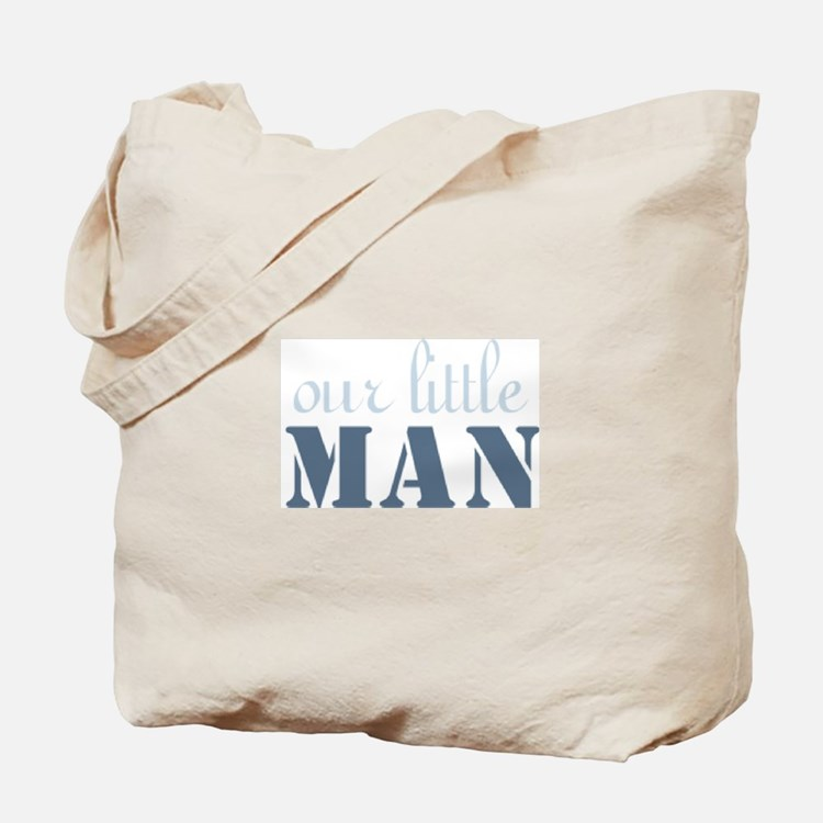 Our Little Man Tote Bag