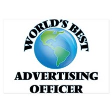 World's Best Advertising Officer Invitations