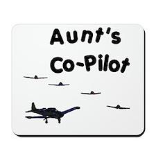 Aunt's Co-Pilot Mousepad