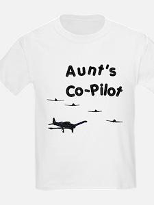 Aunt's Co-Pilot T-Shirt
