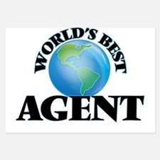 World's Best Agent Invitations