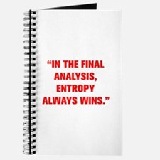 IN THE FINAL ANALYSIS ENTROPY ALWAYS WINS Journal