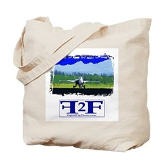 Fight 2 Fly Tote Bag