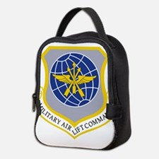Military Airlift Command MAC.pn Neoprene Lunch Bag