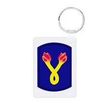 196_inf_bde Keychains