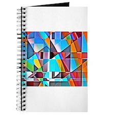 Cubist Rolling Hills Journal
