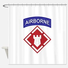 20th Engineer Brigade.png Shower Curtain