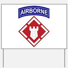 20th Engineer Brigade.png Yard Sign
