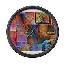Angular Ocular Large Wall Clock