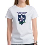 2ND INFANTRY DIVISION, IRAQ Women's T-Shirt