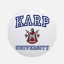 KARP University Ornament (Round)