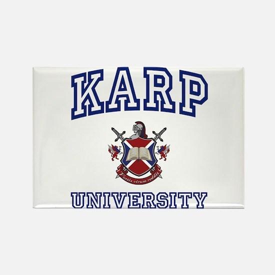 KARP University Rectangle Magnet