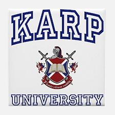 KARP University Tile Coaster