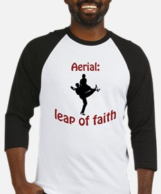 Aerial: leap of faith. Baseball Jersey