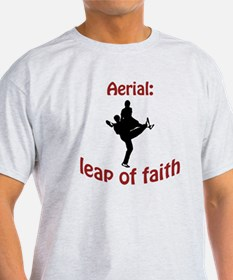 Aerial: leap of faith. T-Shirt