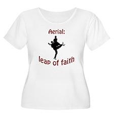 Aerial: leap of faith. T-Shirt
