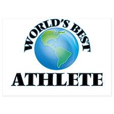 World's Best Athlete Invitations