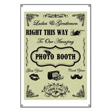 PHOTO BOOTH SIGN Banner