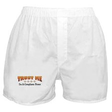 Trust Compliance Person Boxer Shorts