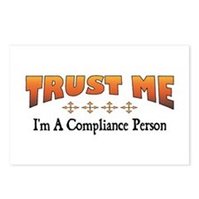 Trust Compliance Person Postcards (Package of 8)