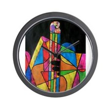 Playing the Bass Wall Clock