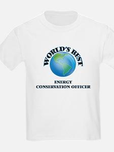 World's Best Energy Conservation Officer T-Shirt