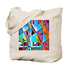 Cubist Rolling Hills Tote Bag