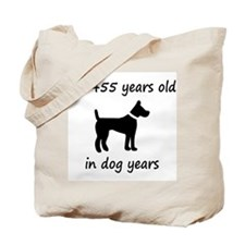 65 dog years black dog 1C Tote Bag