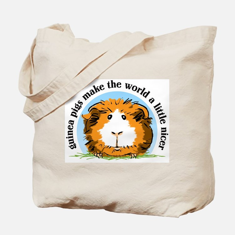 Guinea pigs make the world... Tote Bag