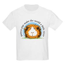 Guinea pigs make the world... Kids T-Shirt