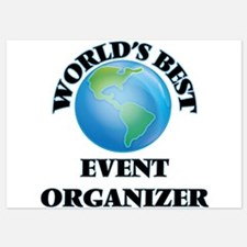 World's Best Event Organizer Invitations