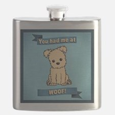 You had me at WOOF! Flask